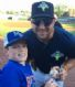 MPTLL's and TRL's Matt Hogston snapping a picture with Tim Tebow